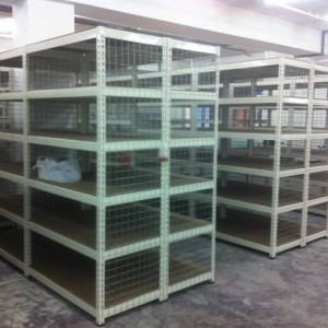 Warehouse @ Tai Seng Road-Boltless Shelving