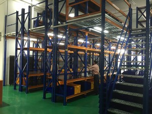 Multi-Tier Platform Racking Systems 2